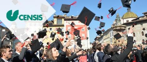UniTrento at the top of Censis ranking 2020-2021 As best medium-sized state university in Italy