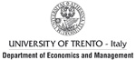 Department of Economics - University of Trento - Italy