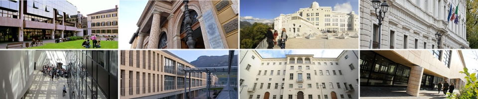 Exchange experiences at UniTrento