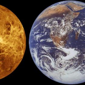 A comparison of terrestrial planets ©Esa