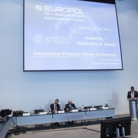 Un momento dei lavori dell'Intellectual Property Crime Coordinated Coalition ©Europol