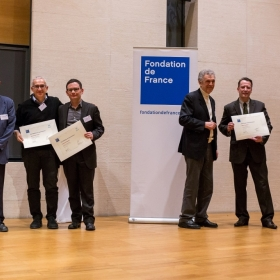 La premiazione Photo © A.Guerra/Fondation de France