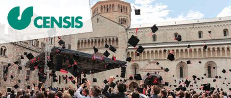 UniTrento leads Censis ranking 2019-2020 as best state university in Italy