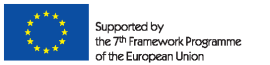 Supported by the 7 Framework Programme of the European Union