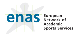 ENAS - European Network of Academic Sports Services