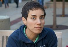 Maryam Mirzakhani. Courtesy of the Mirzakhani Family.