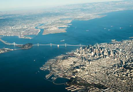 San Francisco from the above