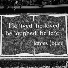 He lived, he loved, he laughed, he left